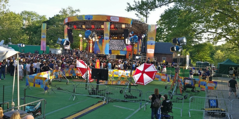 concert gratuit central park