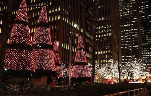 fêtes de fin d'année New York