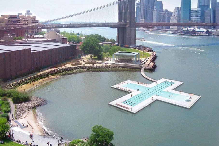piscine east river
