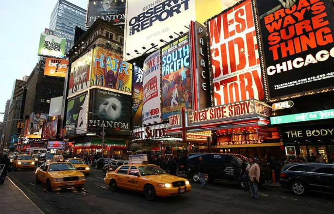 voyage new york broadway